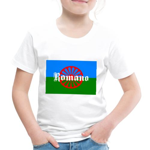 Flag of the Romanilenny people svg - Premium-T-shirt barn