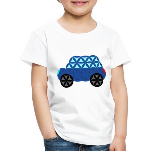 The Car Of Life - M02, Sacred Shapes, Blue/286 - Kids' Premium T-Shirt