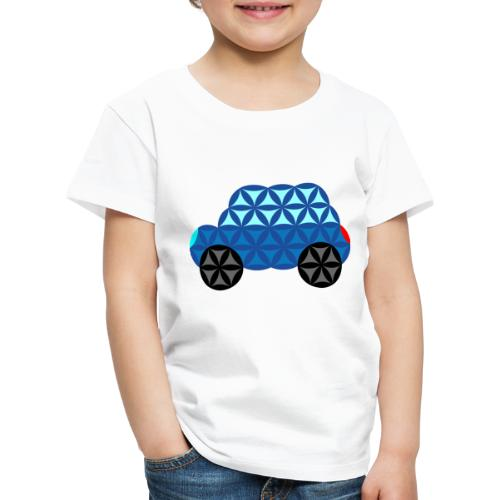 The Car Of Life - M01, Sacred Shapes, Blue/286 - Kids' Premium T-Shirt