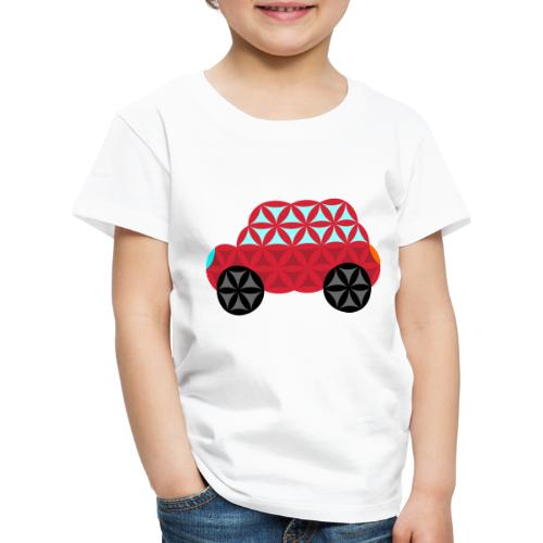 The Car Of Life - M01, Sacred Shapes, Red/186 - Kids' Premium T-Shirt