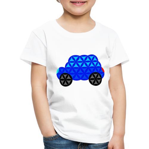 The Car Of Life - M01, Sacred Shapes, Blue/R01. - Kids' Premium T-Shirt