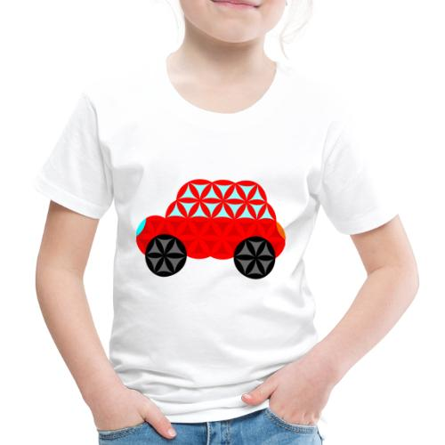 The Car Of Life - M01, Sacred Shapes, Red/R01. - Kids' Premium T-Shirt