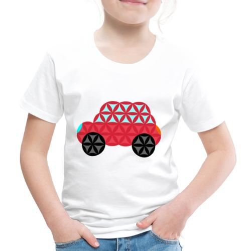 The Car Of Life - M02, Sacred Shapes, Red/186 - Kids' Premium T-Shirt