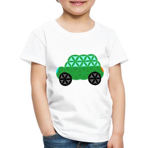 The Car Of Life - M01, Sacred Shapes, Green/363 - Kids' Premium T-Shirt