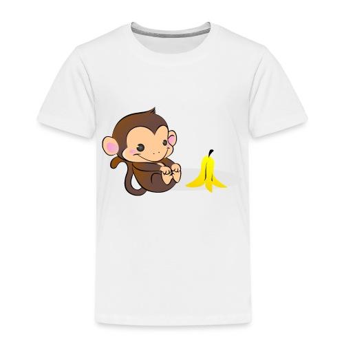 Scimmia Bubbles - Maglietta Premium per bambini