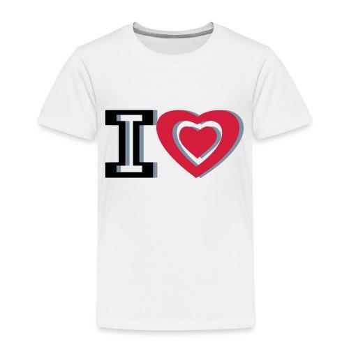 I LOVE I HEART - Kids' Premium T-Shirt