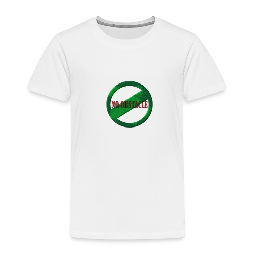 NO OBSTACLE - Kids' Premium T-Shirt