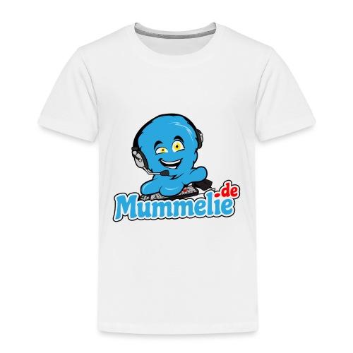 blau komplett übereinander - Kinder Premium T-Shirt