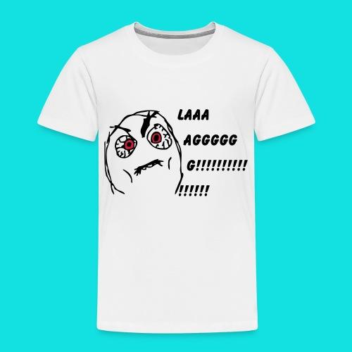 Rage Meme Black - Kids' Premium T-Shirt