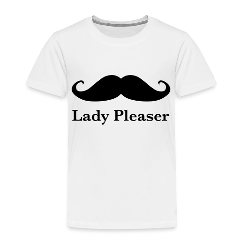 Lady Pleaser T-Shirt in Green - Kids' Premium T-Shirt