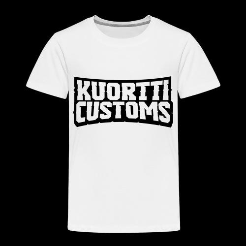 kuortti_customs_logo_main - Lasten premium t-paita