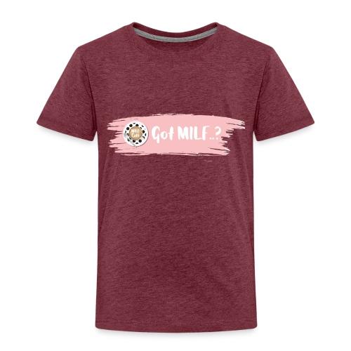 Got MILF Milfcafe Shirt Mama Muttertag - Kinder Premium T-Shirt