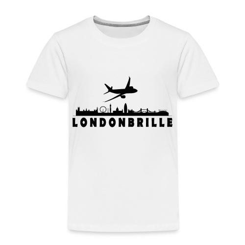 Londonbrille - Kinder Premium T-Shirt