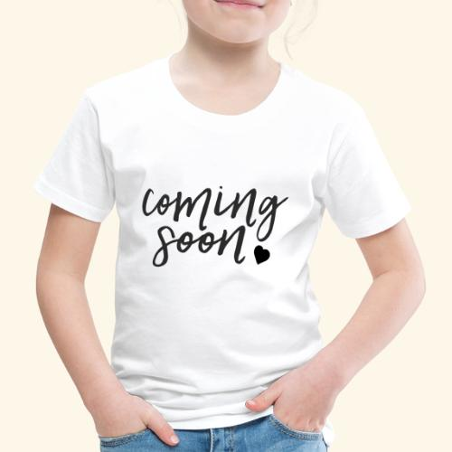 Baby Coming Soon - Baby Loading - Kinder Premium T-Shirt