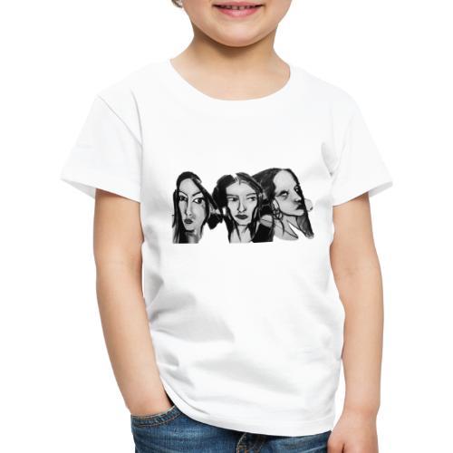 Drei Frauen - Kinder Premium T-Shirt