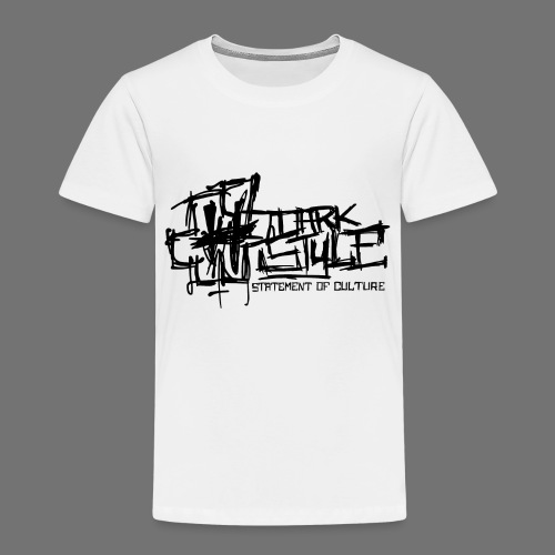 Tumma Style - Statement of Culture (musta) - Lasten premium t-paita