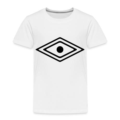 Auge des Medizin Mann, Indianisches Kraft Symbol - Kinder Premium T-Shirt
