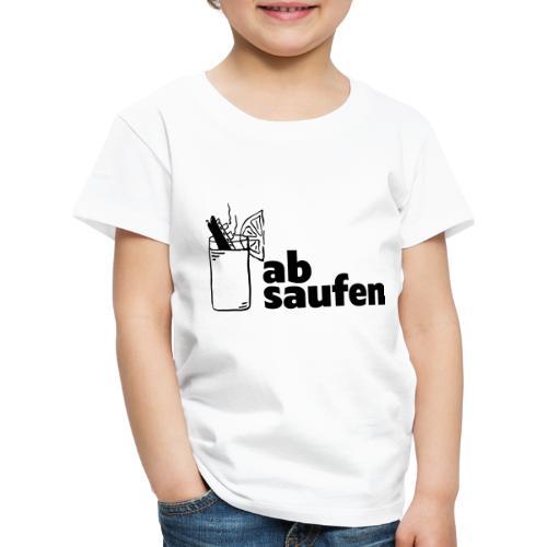 absaufen - Kinder Premium T-Shirt
