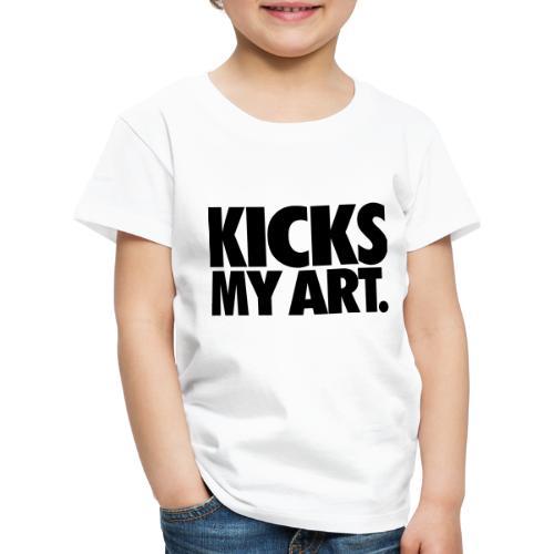 Kicks My Art By MizAl - Koszulka dziecięca Premium