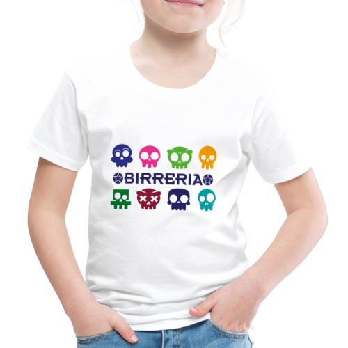 Kids color Skulls - Kinder Premium T-Shirt