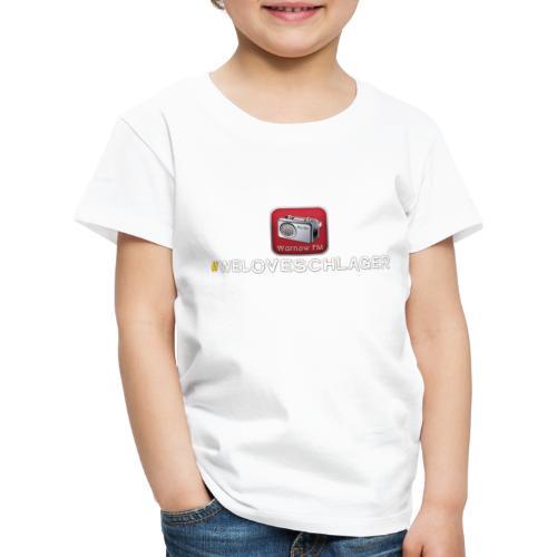 WeLoveSchlager 1 - Kinder Premium T-Shirt