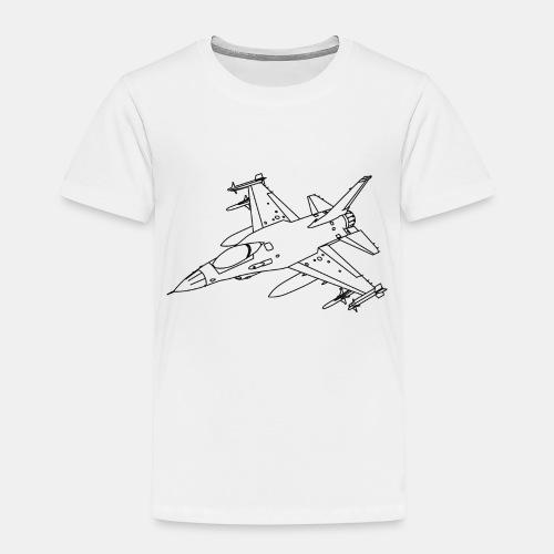 F-16 Viper / Fighting Falcon jet fighter / F16 - Kids' Premium T-Shirt