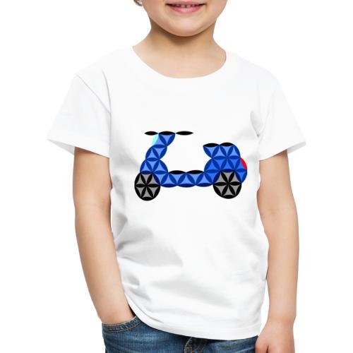 The Motorbike Of Life - Sacred Shape - Kids' Premium T-Shirt