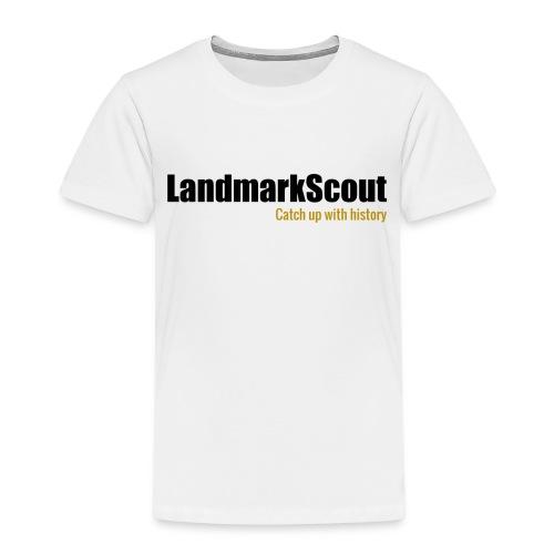 Tshirt Yellow Back logo 2013 png - Kids' Premium T-Shirt