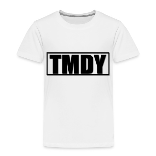 TMDY Snapback (Black logo) - Kids' Premium T-Shirt
