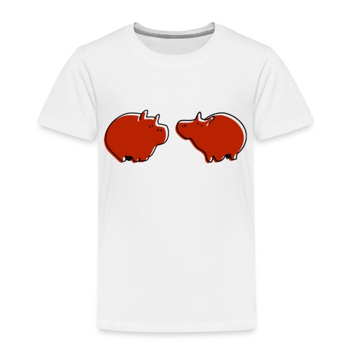 Cochons rouges - T-shirt Premium Enfant