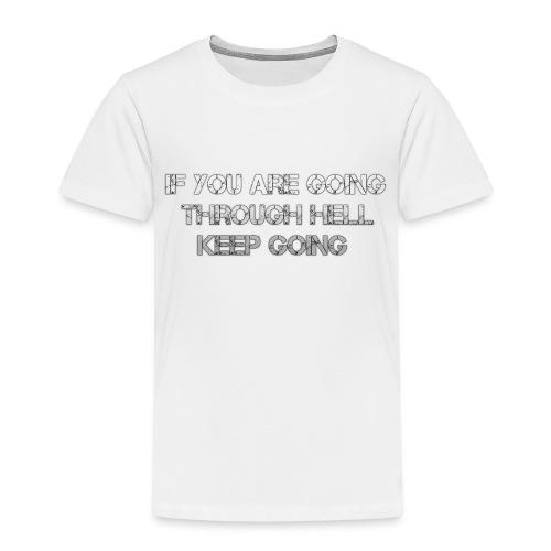 HELL png - Kinderen Premium T-shirt