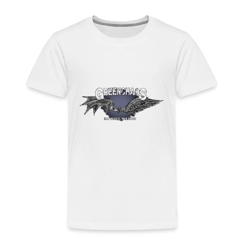 Dämon / Mensch - Weiss (Weiblich) - Kinder Premium T-Shirt
