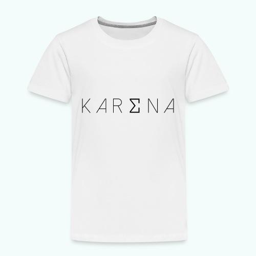 karena logo - Kids' Premium T-Shirt