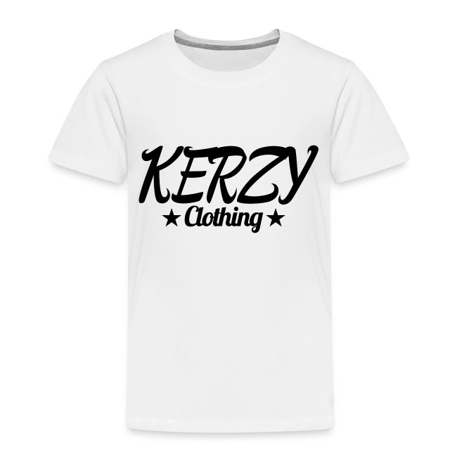 Official KerzyClothing T-Shirt Black Edition