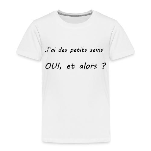 Débardeur - J'ai des petits seins Et Alors ? - T-shirt Premium Enfant