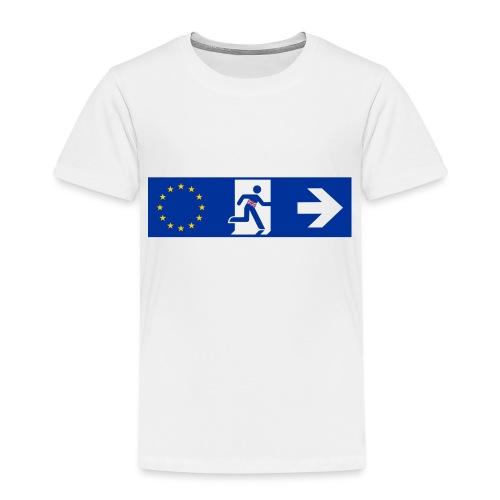 brexit United Kingdom - Maglietta Premium per bambini