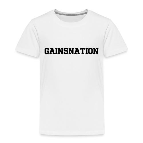 Kortärmad tröja Gainsnation - Premium-T-shirt barn