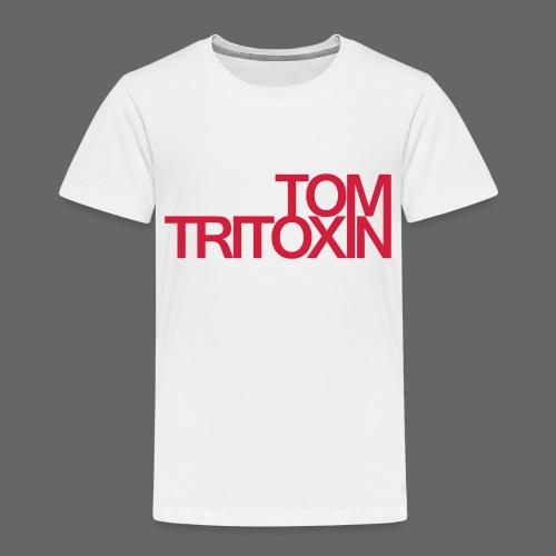 TOMTRITOXIN Schriftzug re - Kinder Premium T-Shirt