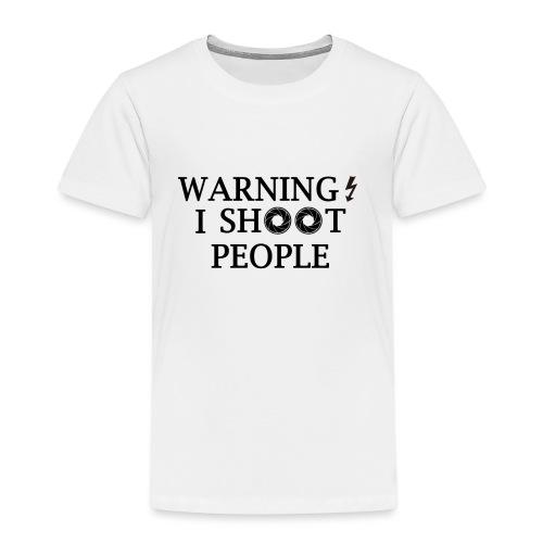 WARNING! - Kids' Premium T-Shirt