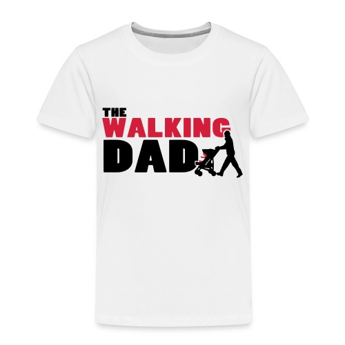 WalkingDAD_01_2Farben - Kinder Premium T-Shirt