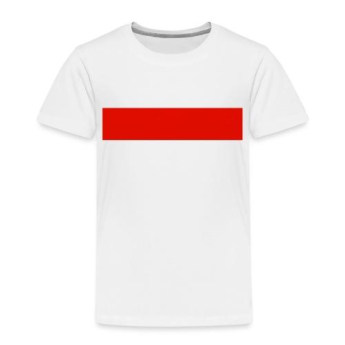 Red Rectangle - Kids' Premium T-Shirt
