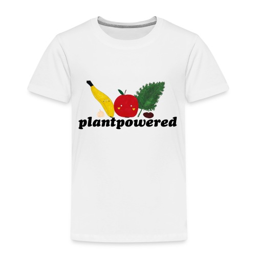 Plantpowered Fruit-Pals - Kinder Premium T-Shirt