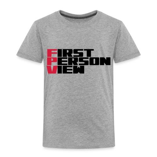 First Person View - Kids' Premium T-Shirt