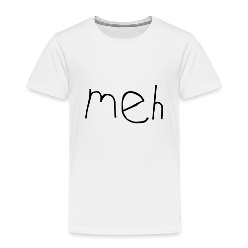 meh2black - Kids' Premium T-Shirt