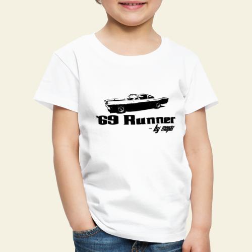 roadrunner 69 - Børne premium T-shirt