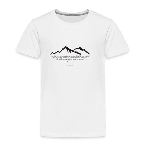 góry mogą ustąpić eng bez tła - Koszulka dziecięca Premium