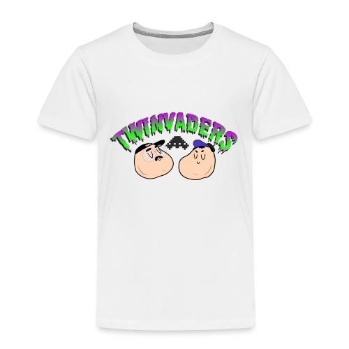 Twinvaders Logo - Kids' Premium T-Shirt