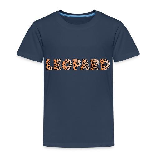 leopard 1237253 960 720 - Kinder Premium T-Shirt