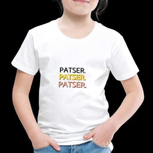 PATSER GOUD - Kinderen Premium T-shirt