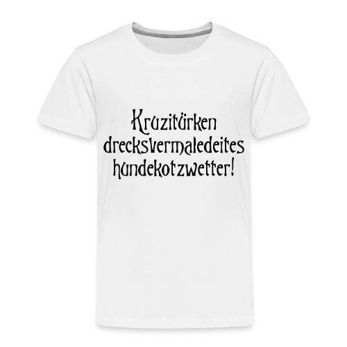 hundekotzwetter - Kinder Premium T-Shirt
